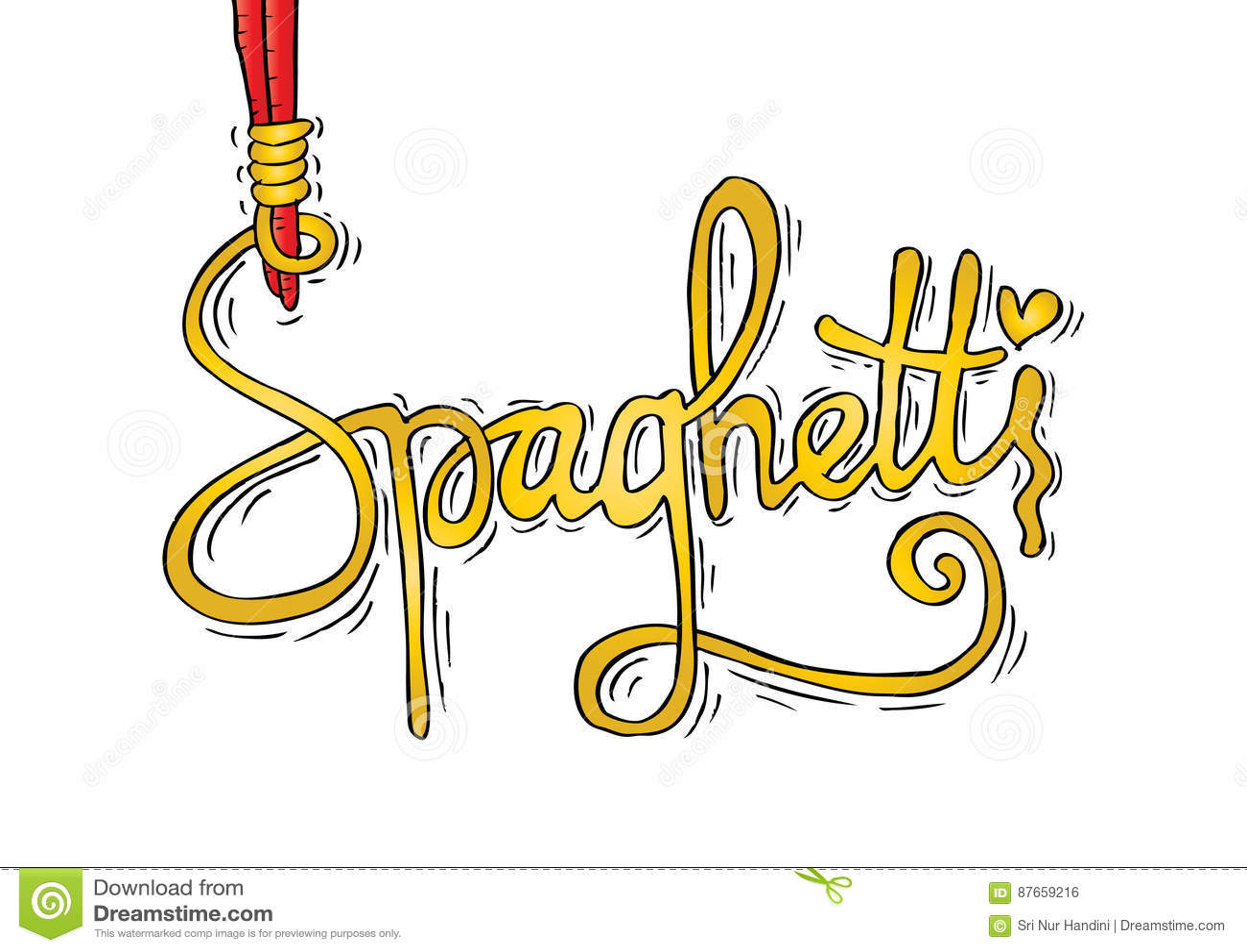 нее помощью пришли открытку со словом спагетти правда