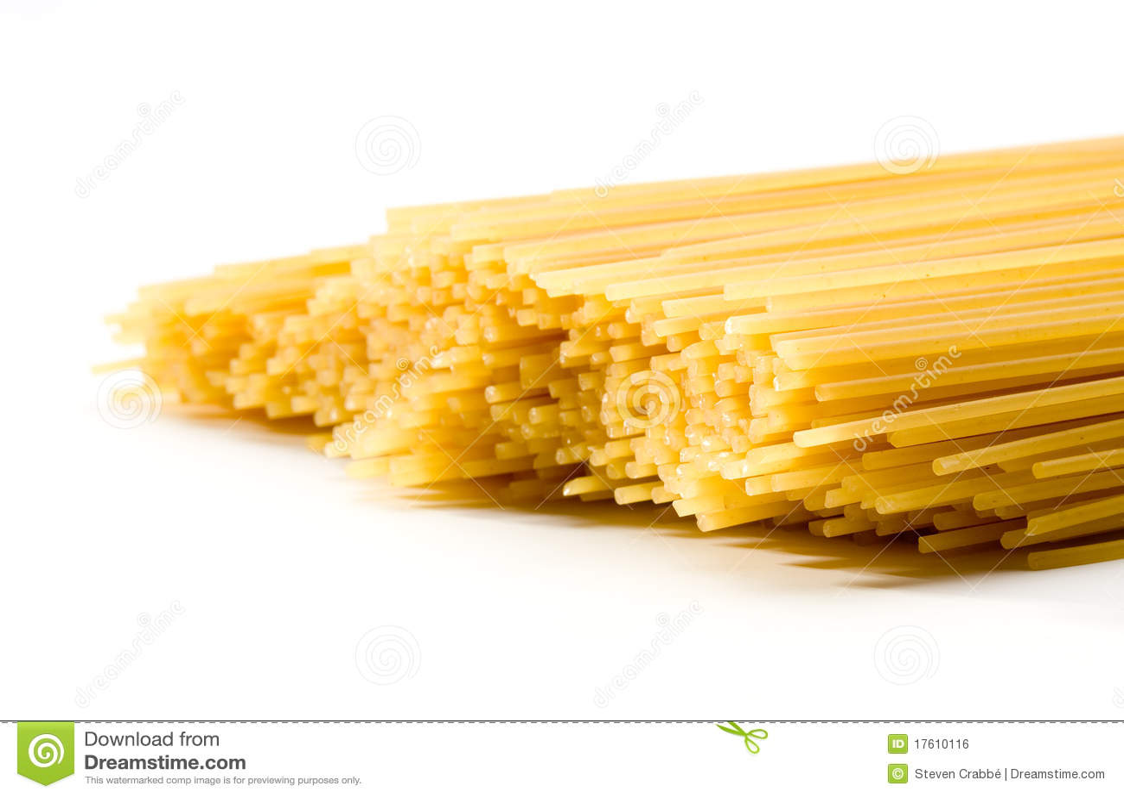спагетти uncooked