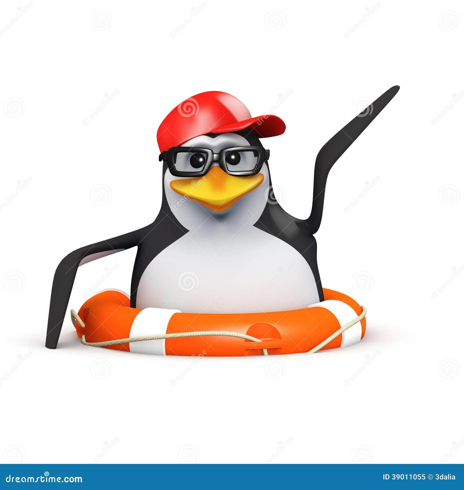 спасают пингвина 3d