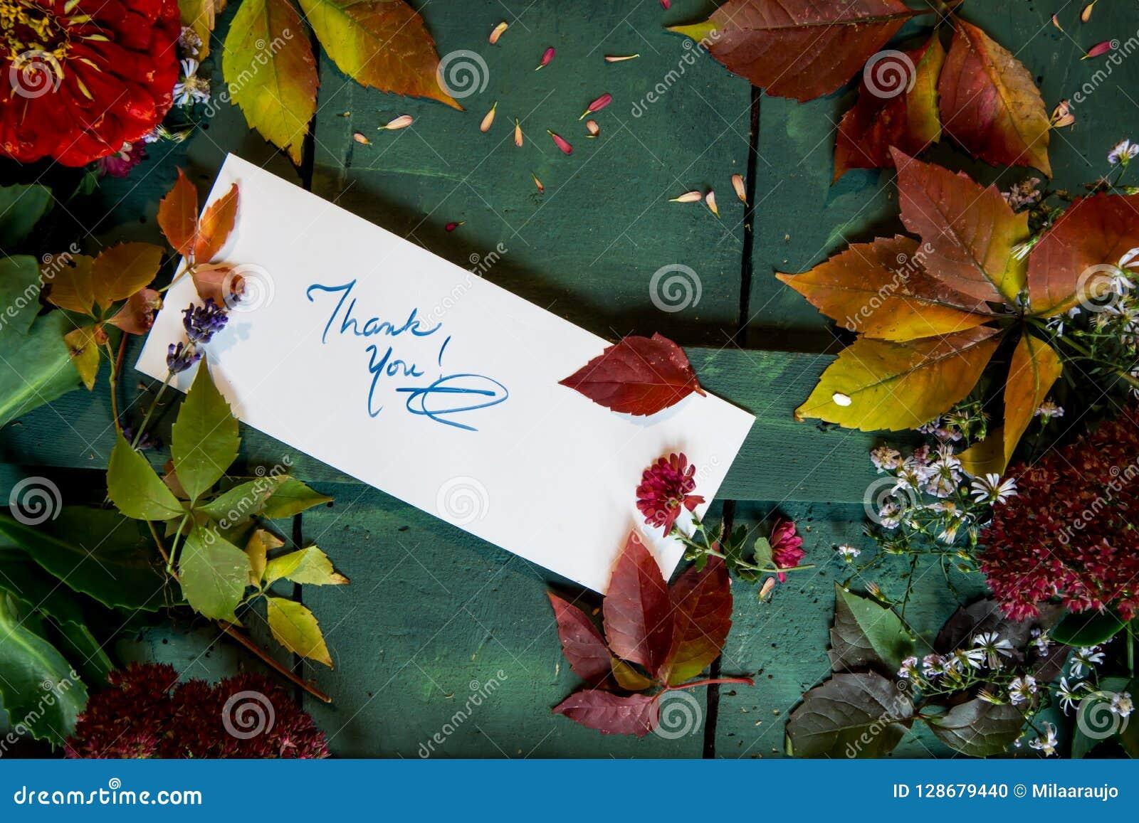 Спасибо карточка на примечаниях признательности сочинительства предпосылки осени и благодарения