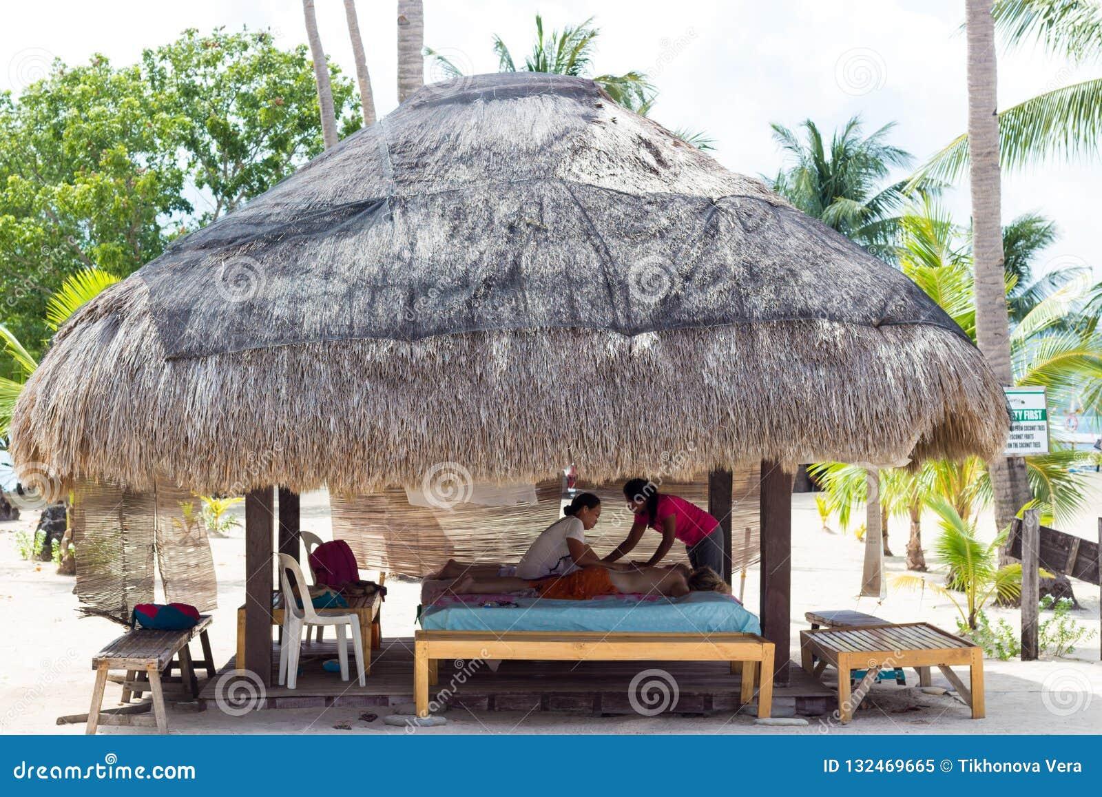 Спа-салон на пляже