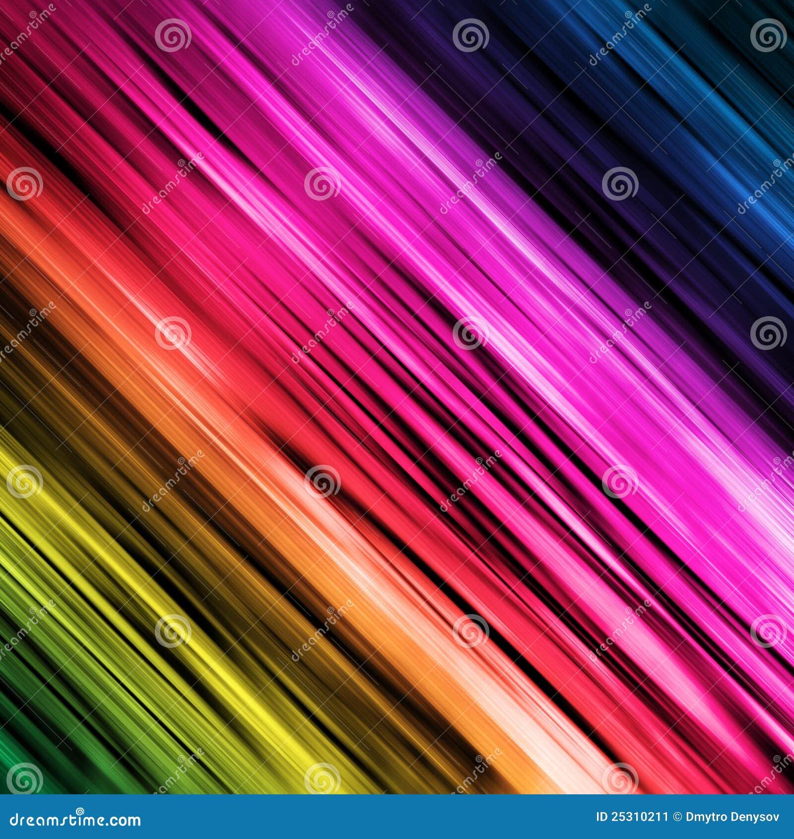 Спектральная линейная радуга
