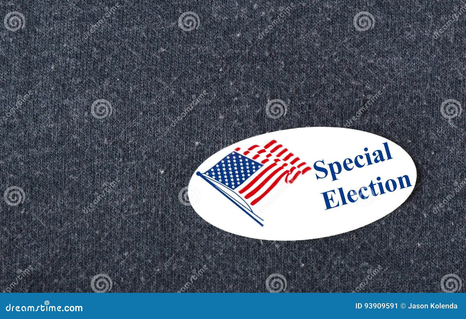 Специальный стикер избрания