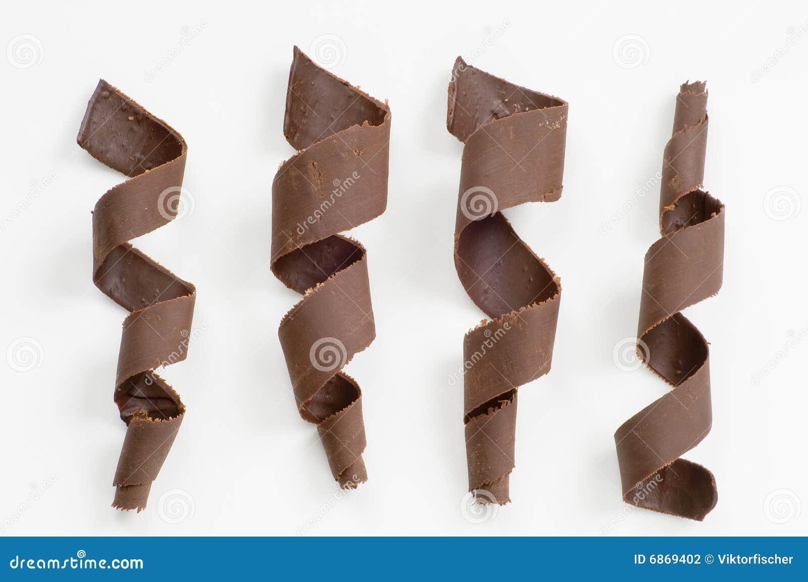 спирали шоколада