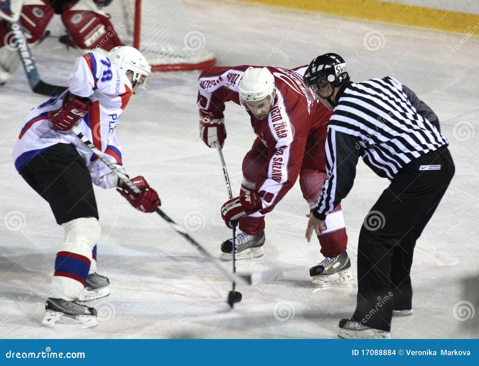 спичка льда хоккея