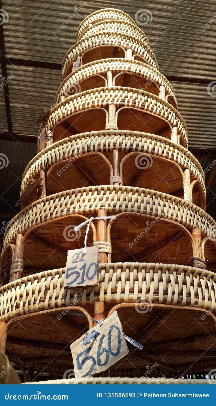 Сплетенный бамбук