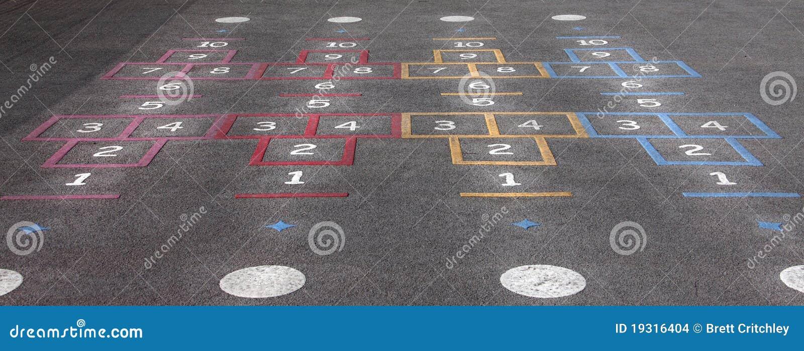 спортивная площадка hopscotch