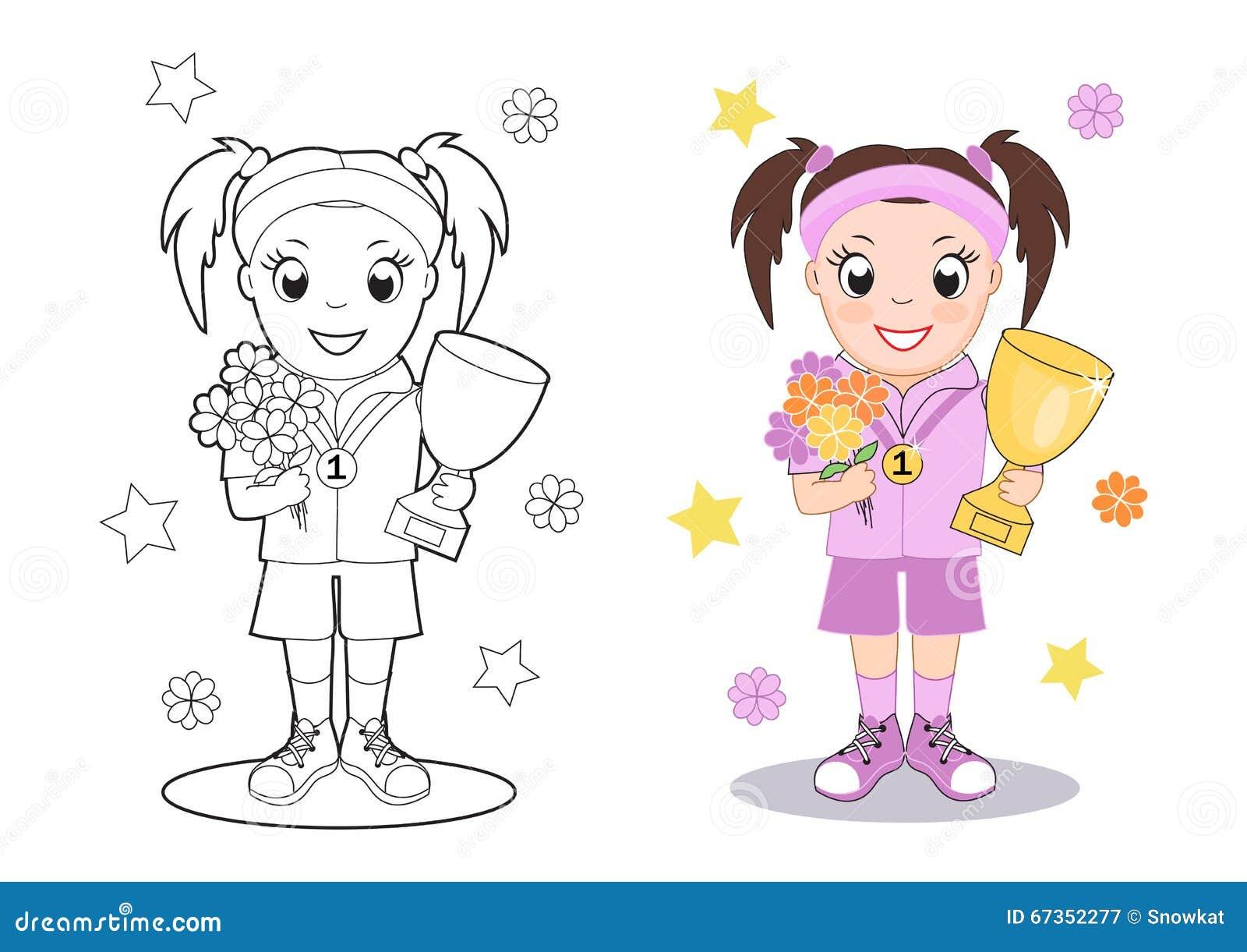 Картинки на пьедестале для детей раскраска