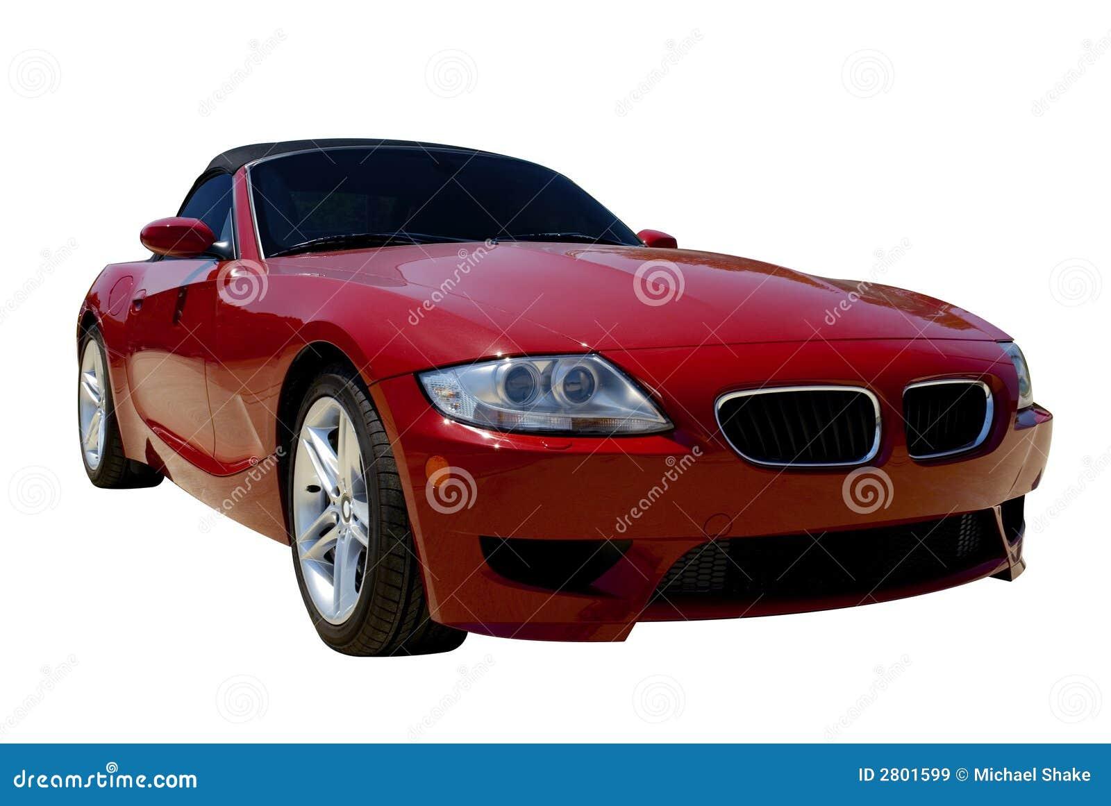 спорты красного цвета автомобиля