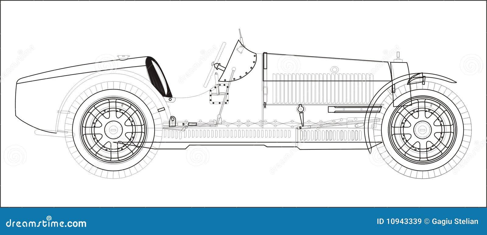 спорт автомобилей старый