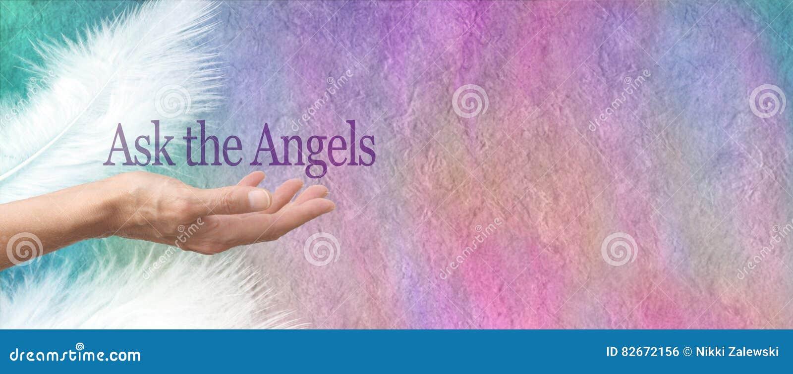 Спросите ваше знамя пергамента ангелов