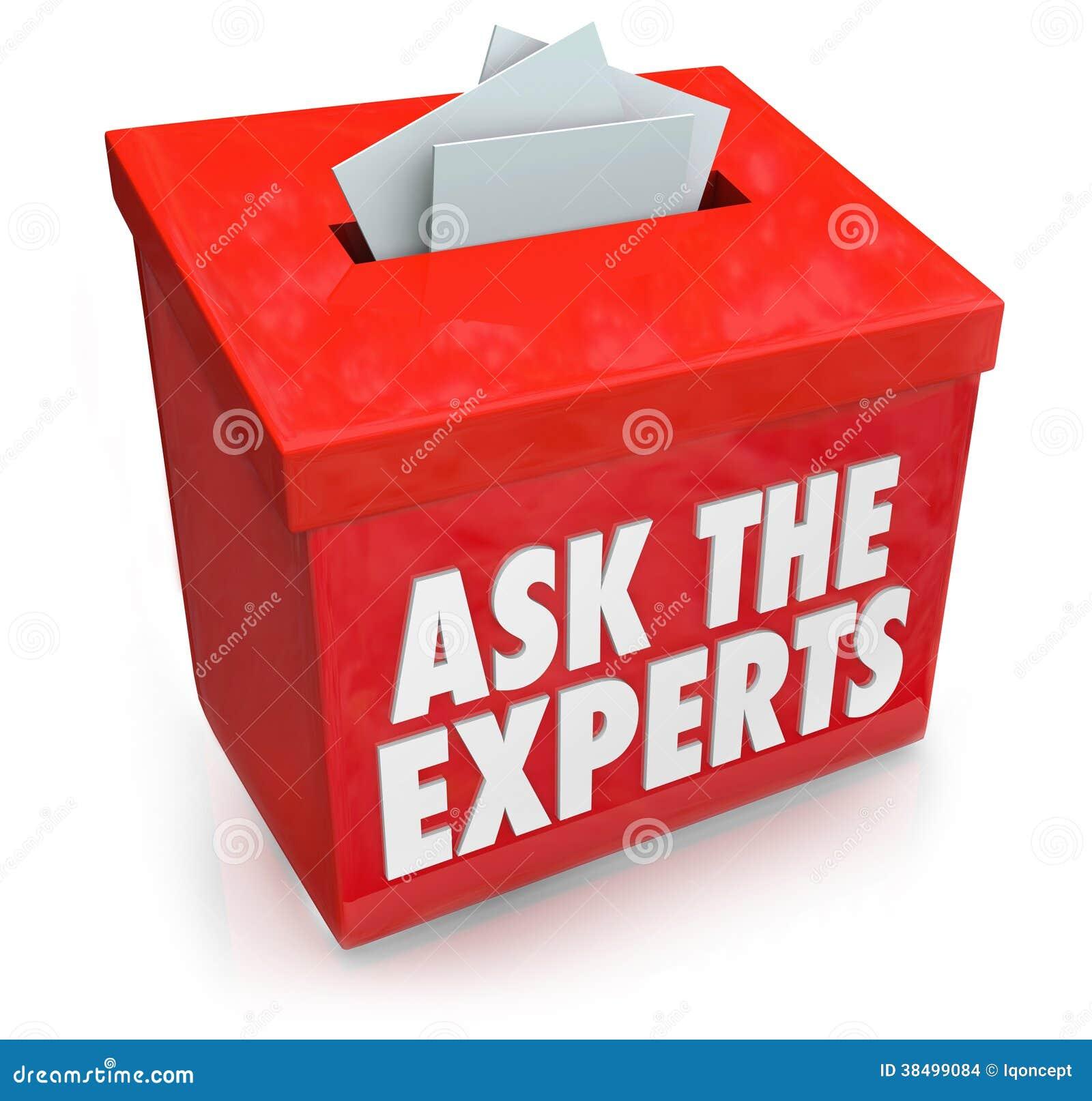 Спросите специалистам коробка входа вопроса представляет подсказки a помощи помощи
