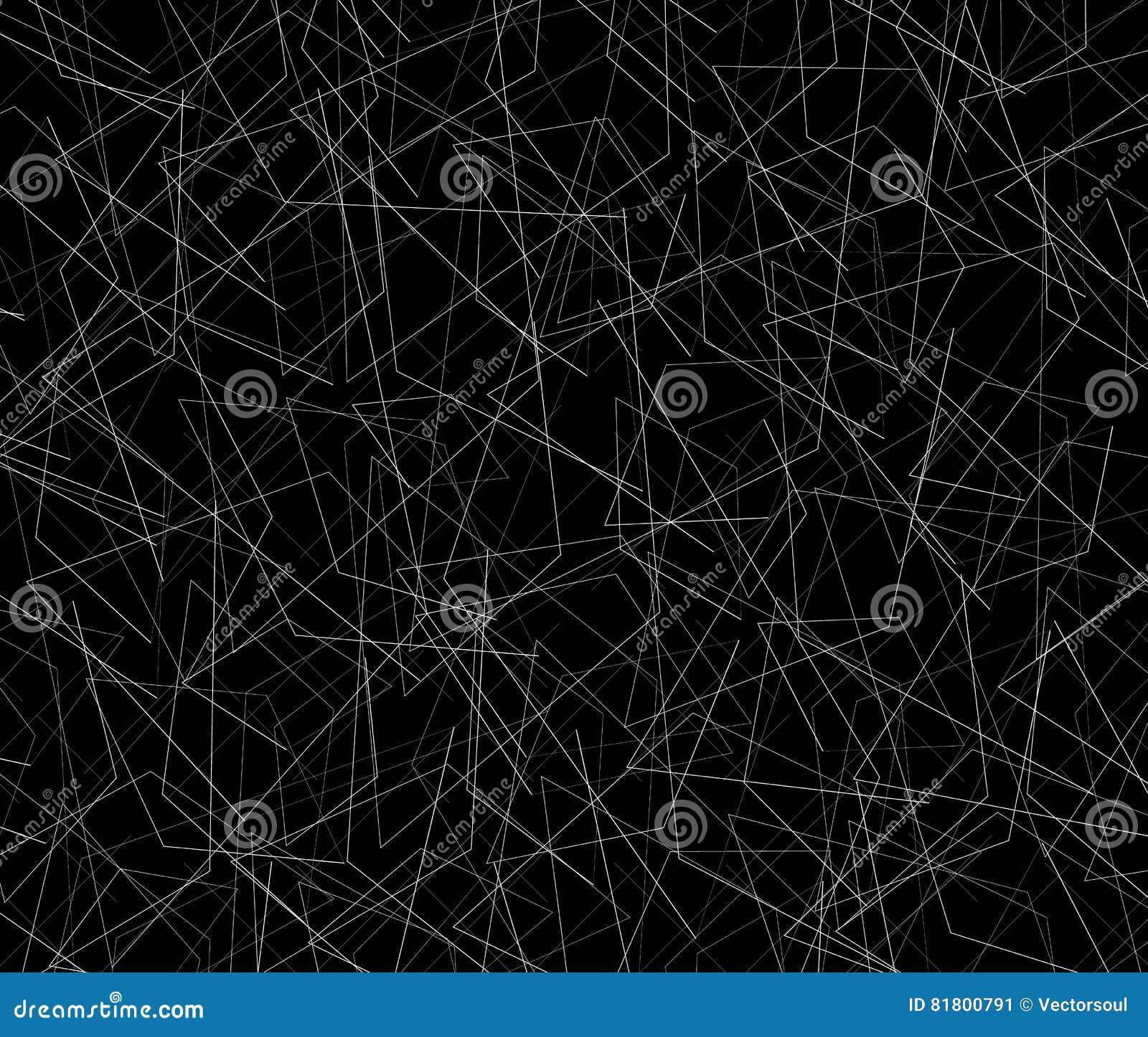 Спутанная текстура тонких линий