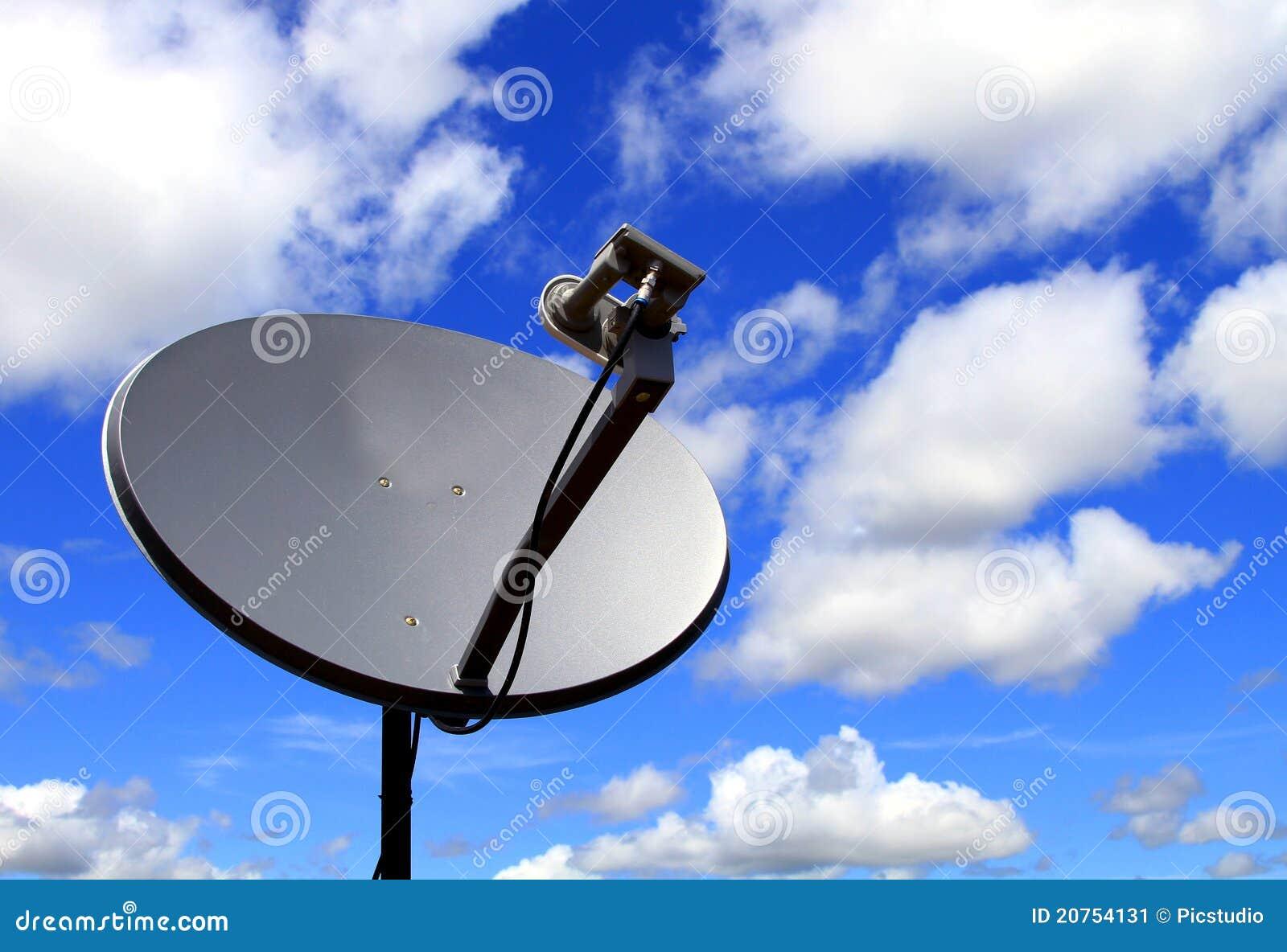 спутник тарелки антенны