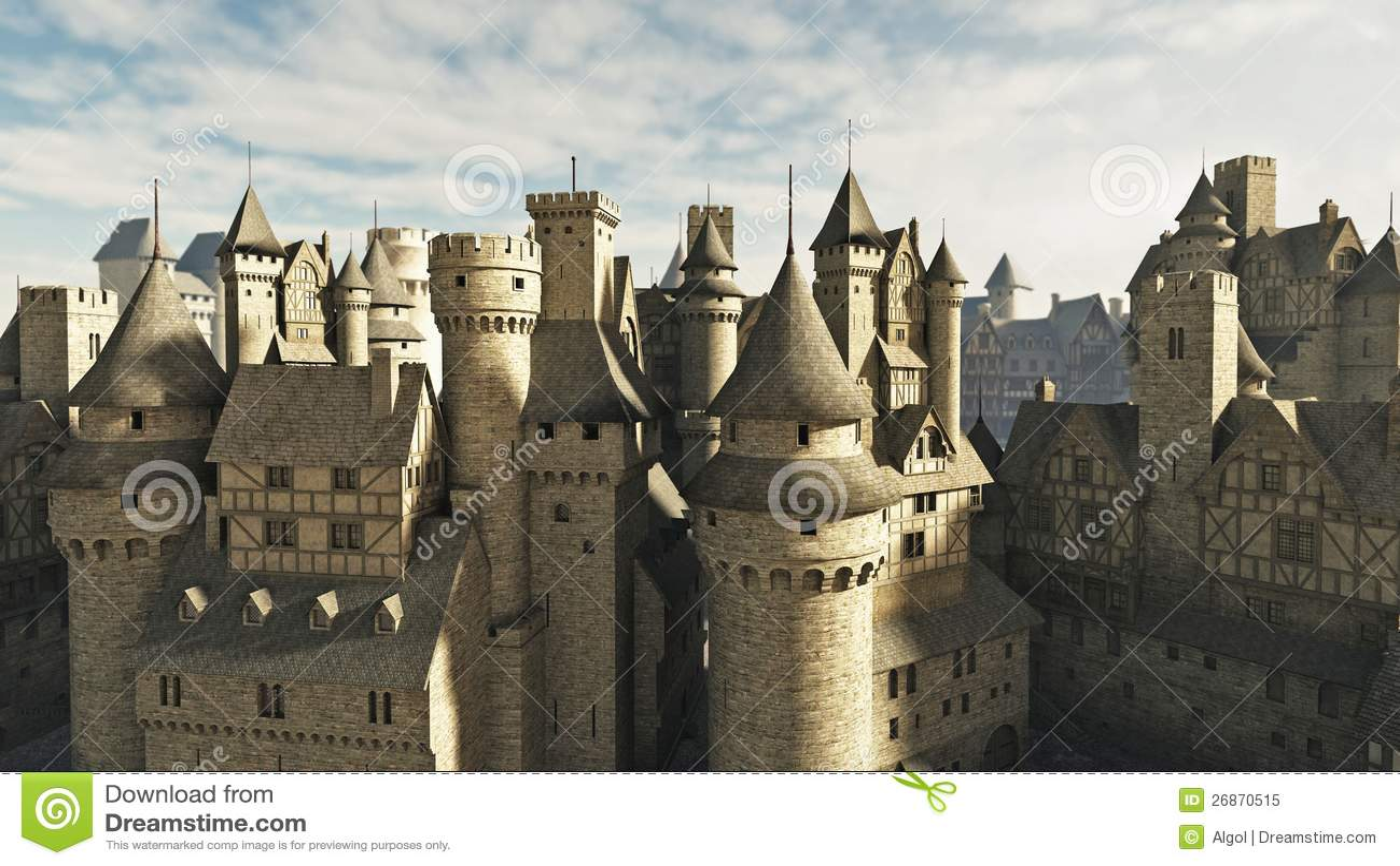 Средневековые крыши
