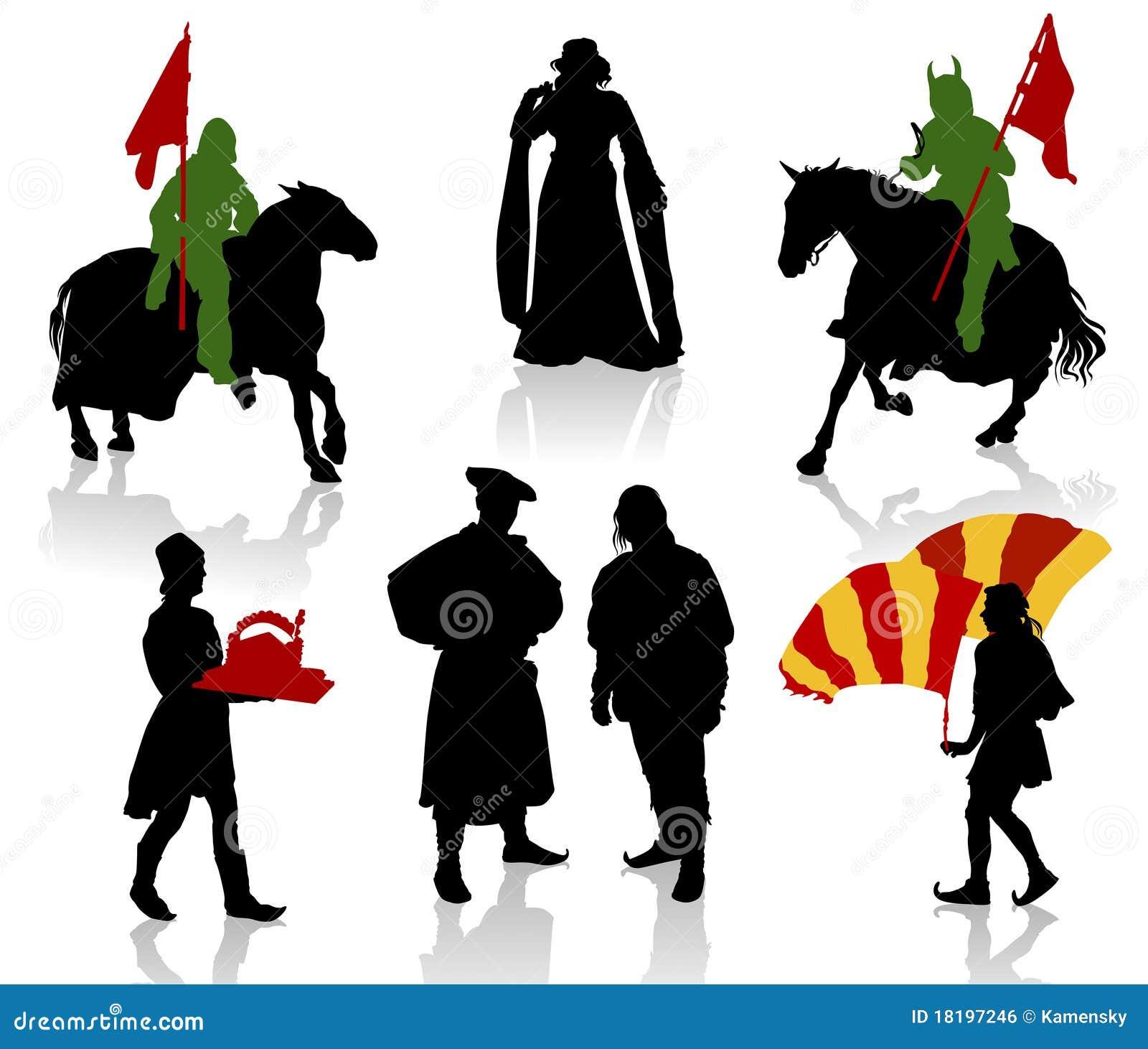 средневековые люди
