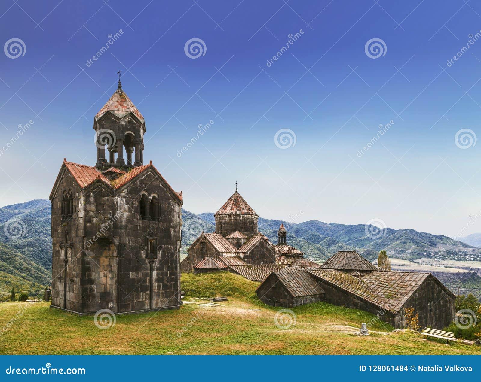 Средневековый армянский монастырь Haghpat, столетие 10