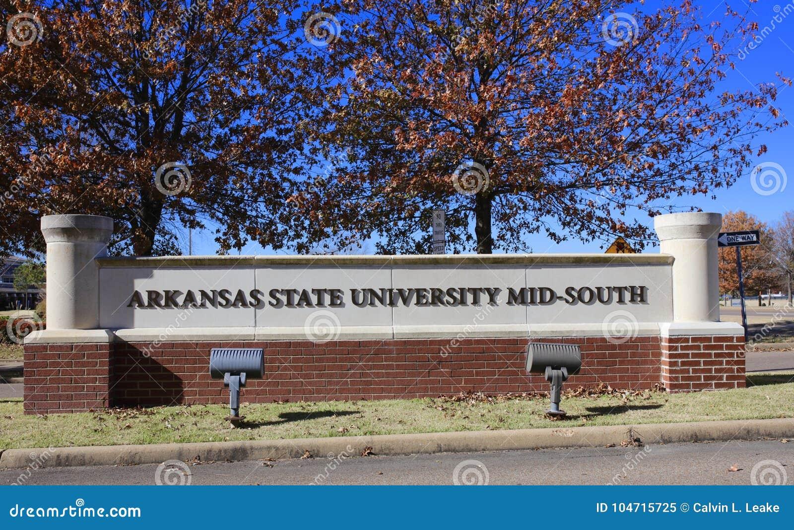 Средний-юг государственного университета Арканзаса, западный Мемфис, Арканзас