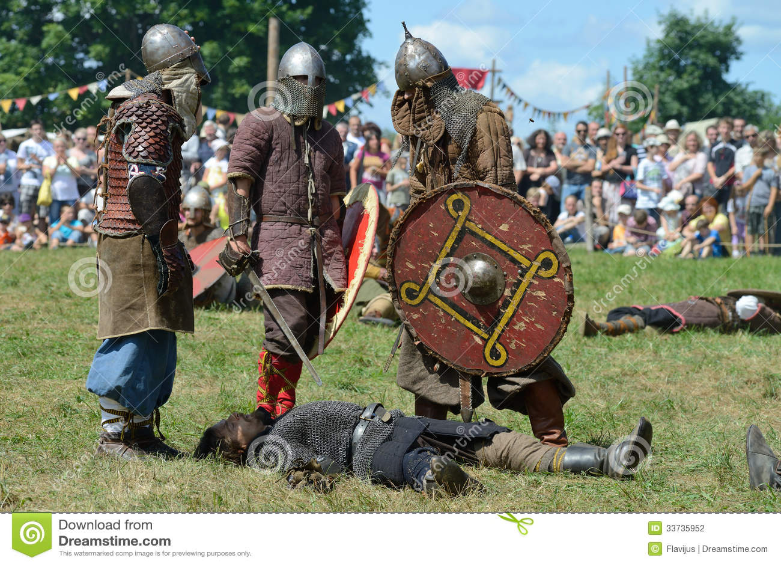 Средневековые драки