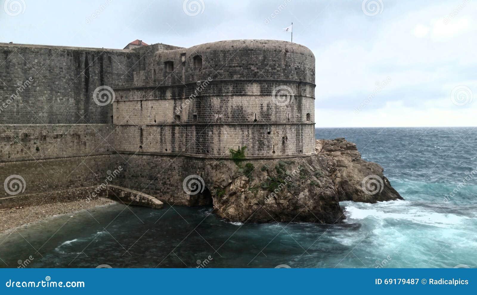 Средневековый Дубровник Хорватия 3