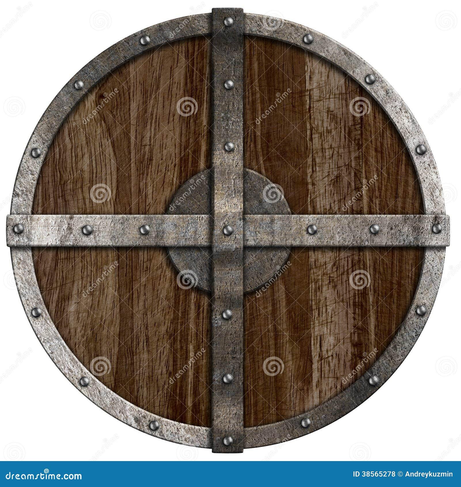 Средневековый деревянный изолированный экран