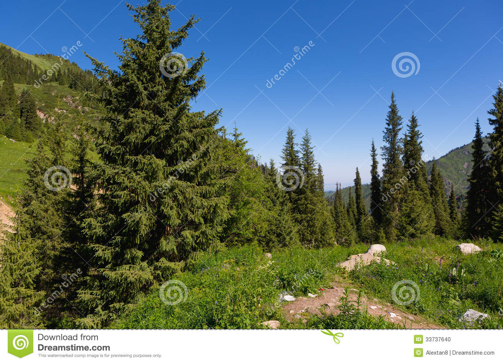 Средняя Азия скалистых гор ландшафта природы