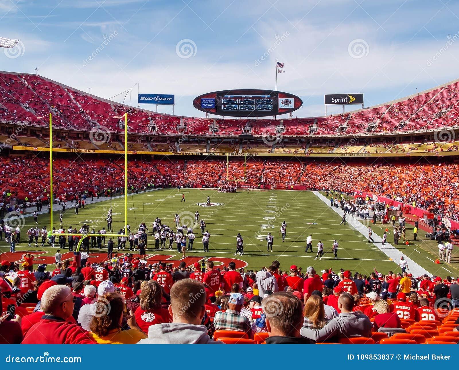 Стадион Kansas City наконечника