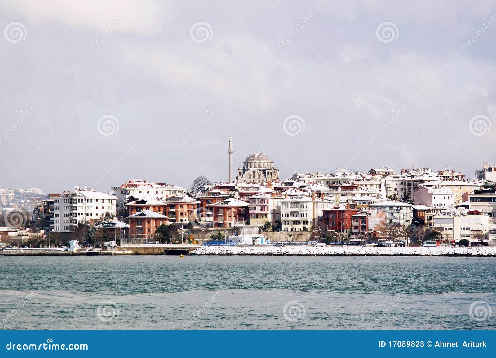Стамбул в зиме