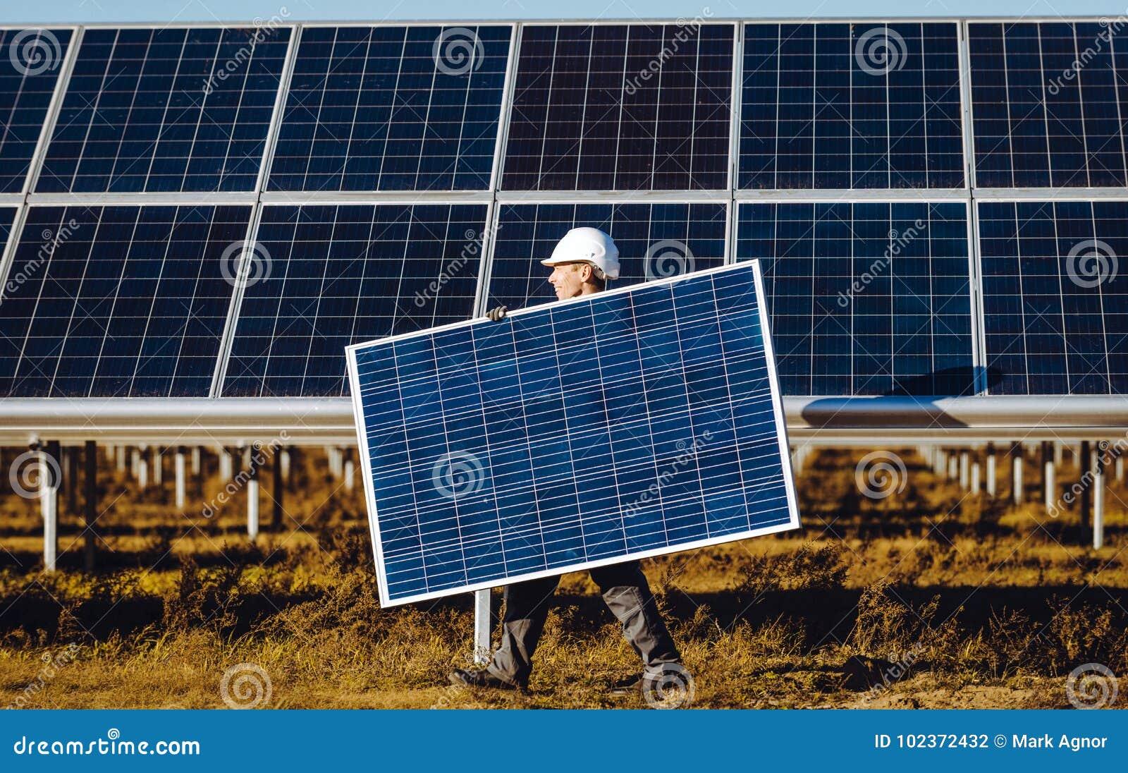 Станция солнечной энергии