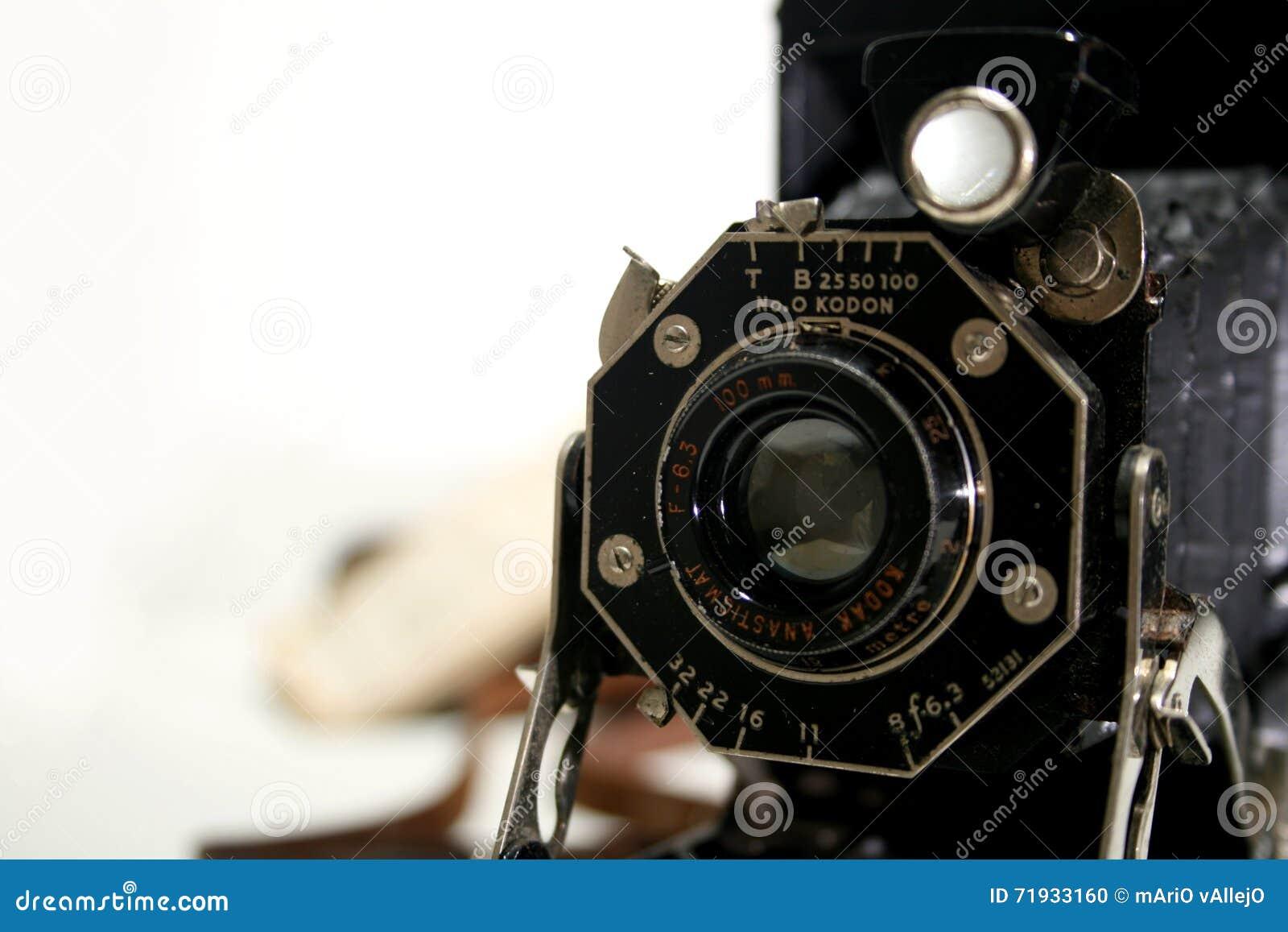 Старая античная камера складчатости