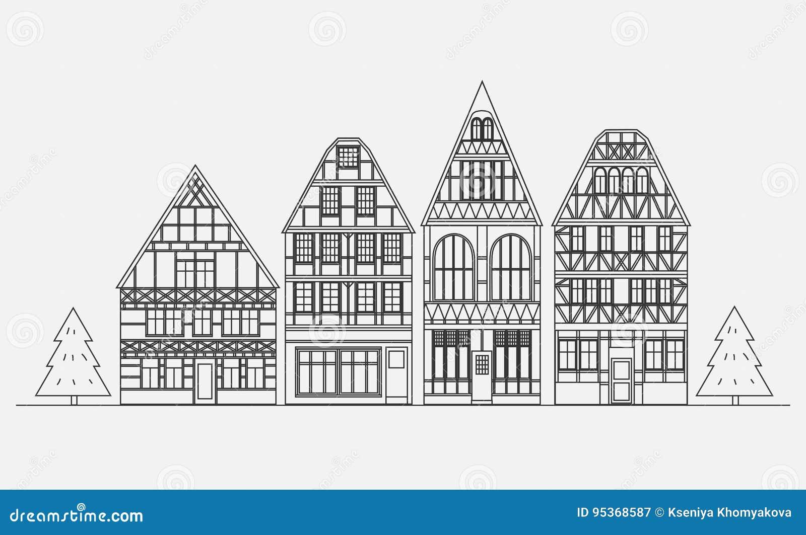 Старая архитектура Германии