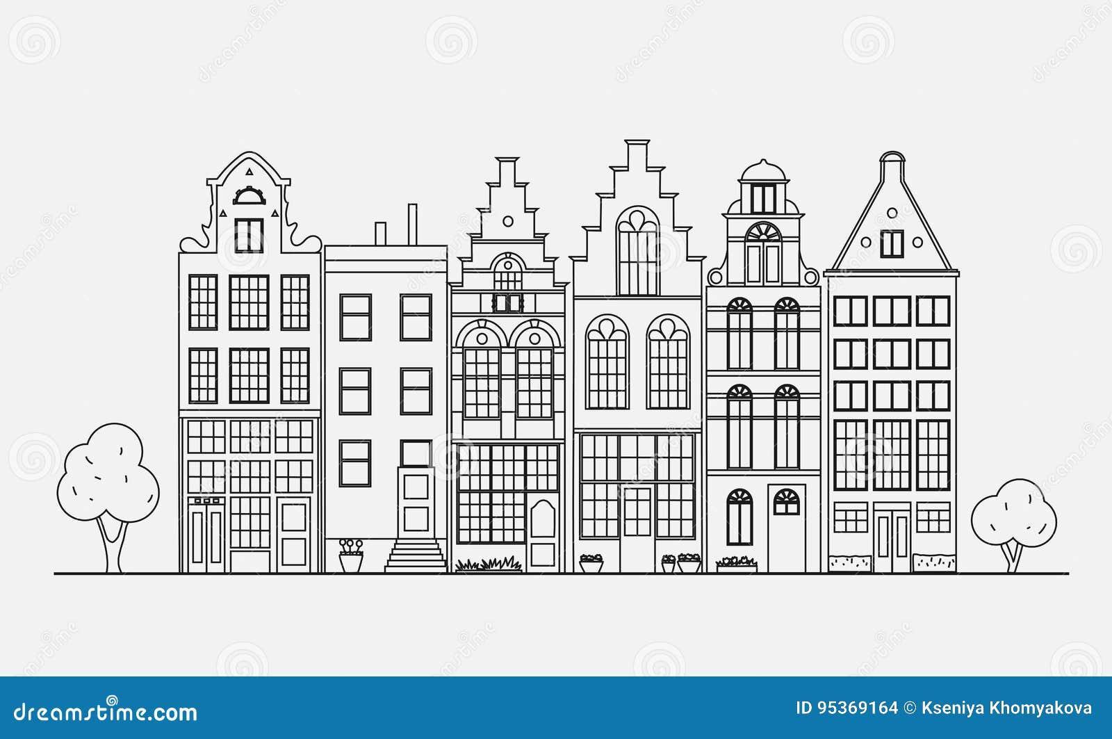 Старая архитектура Голландии