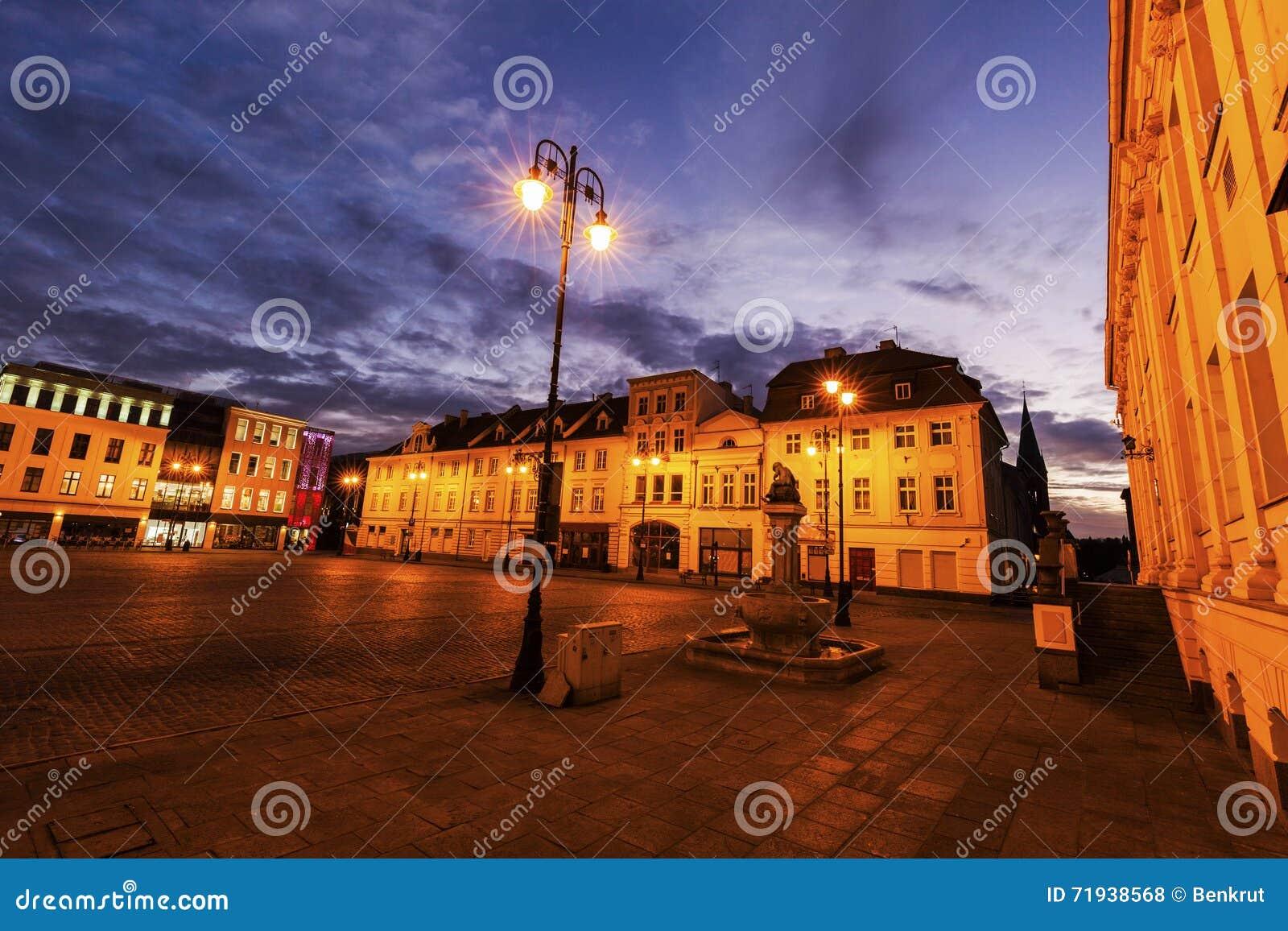 Старая городская площадь в Bydgoszcz