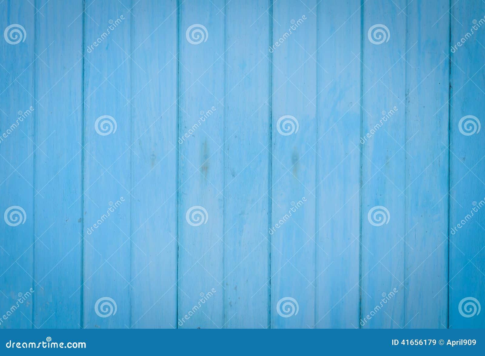 Старая голубая деревянная предпосылка