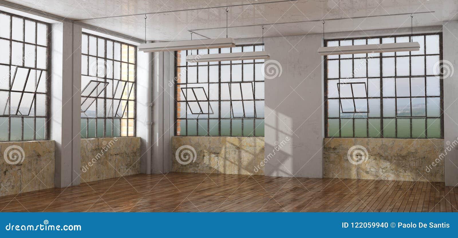 Старая комната в просторной квартире