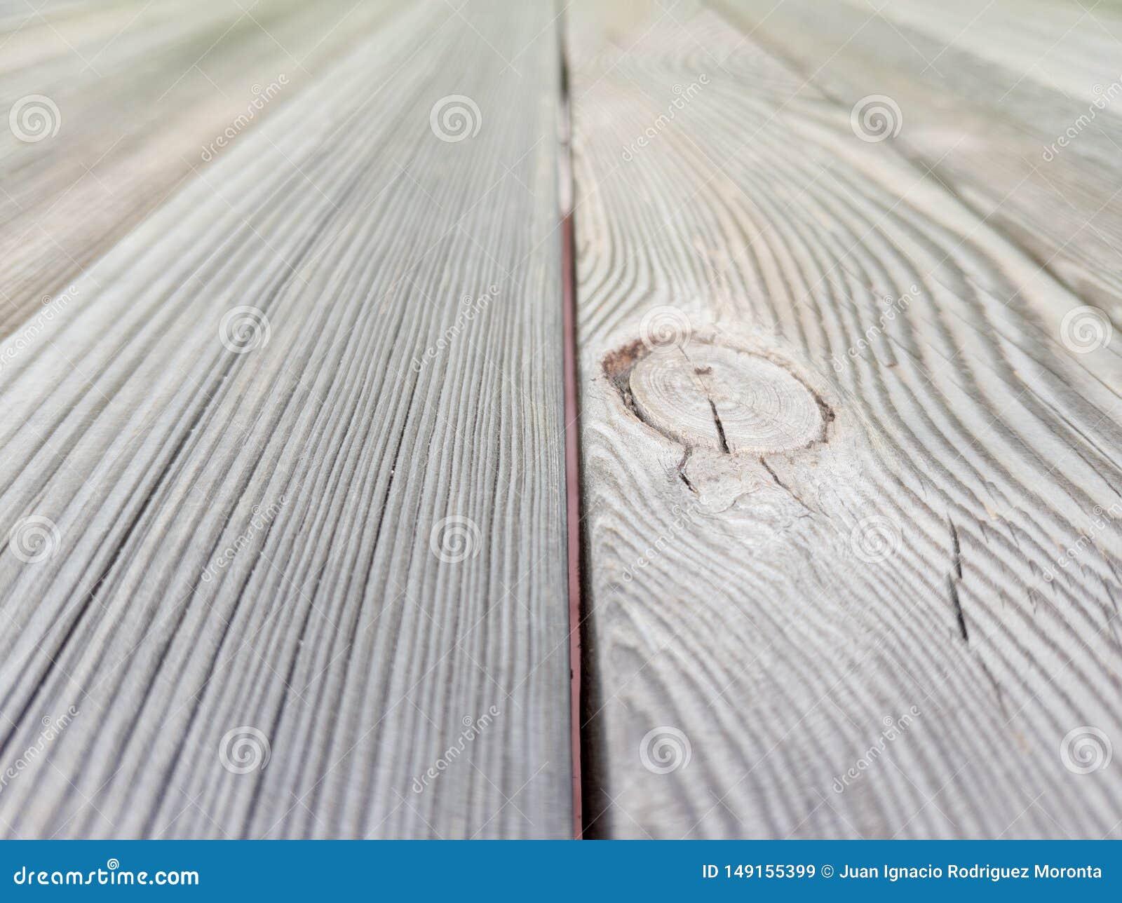 Старая коричневая деревянная текстура пола с влиянием перспективы