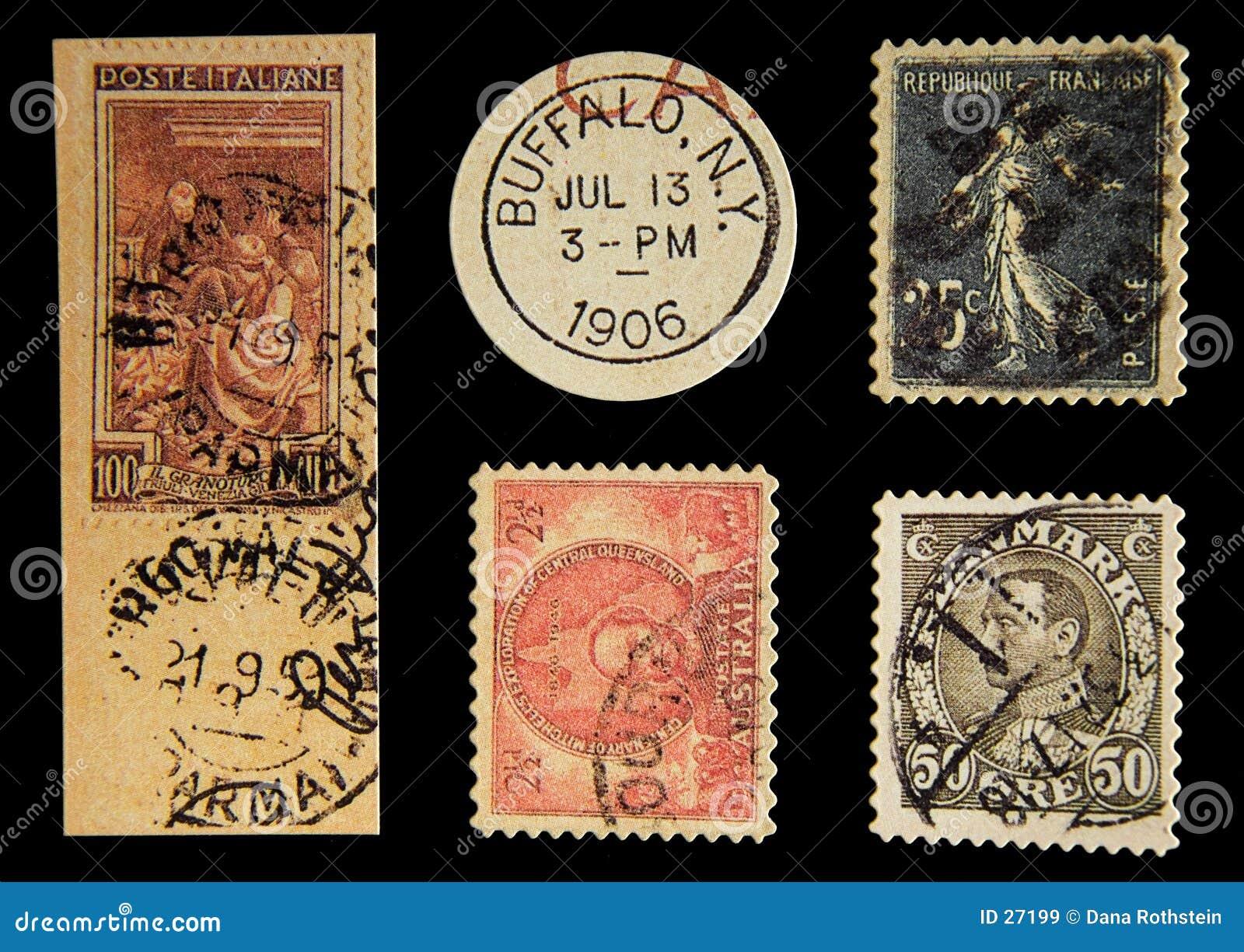 старая почтовая оплата