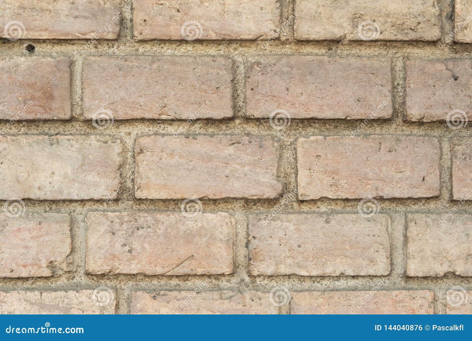 Старая предпосылка текстуры кирпичной стены, графический ресурс