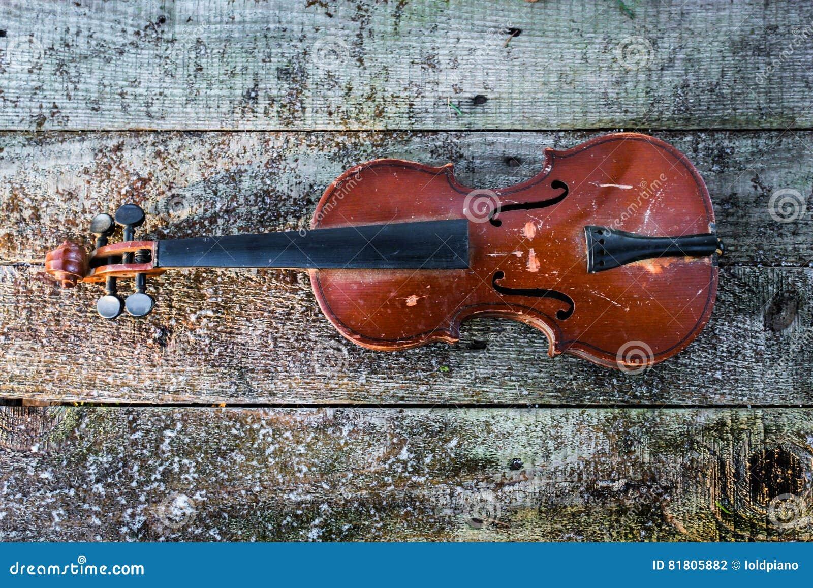 старая скрипка
