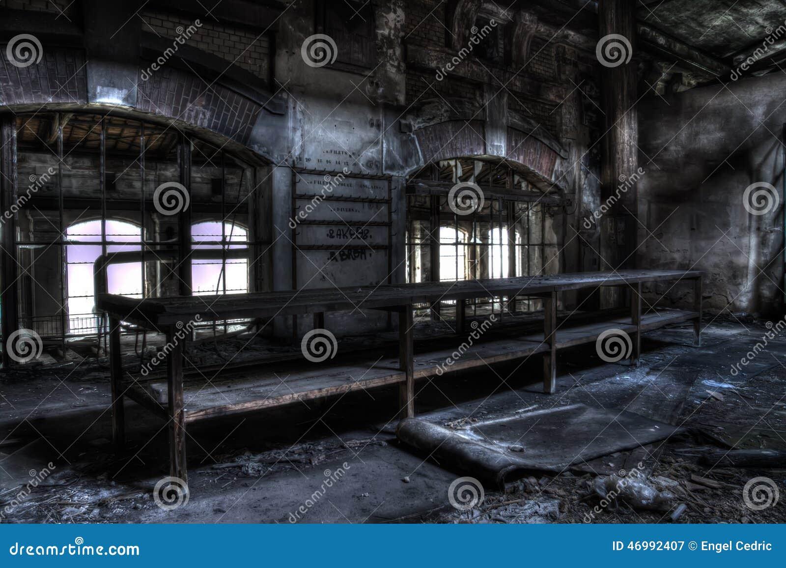 Старая таблица на фабрике