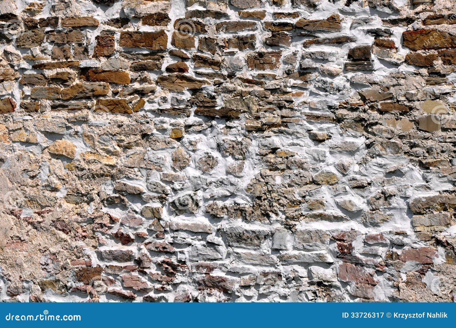 Старая текстура предпосылки каменной стены