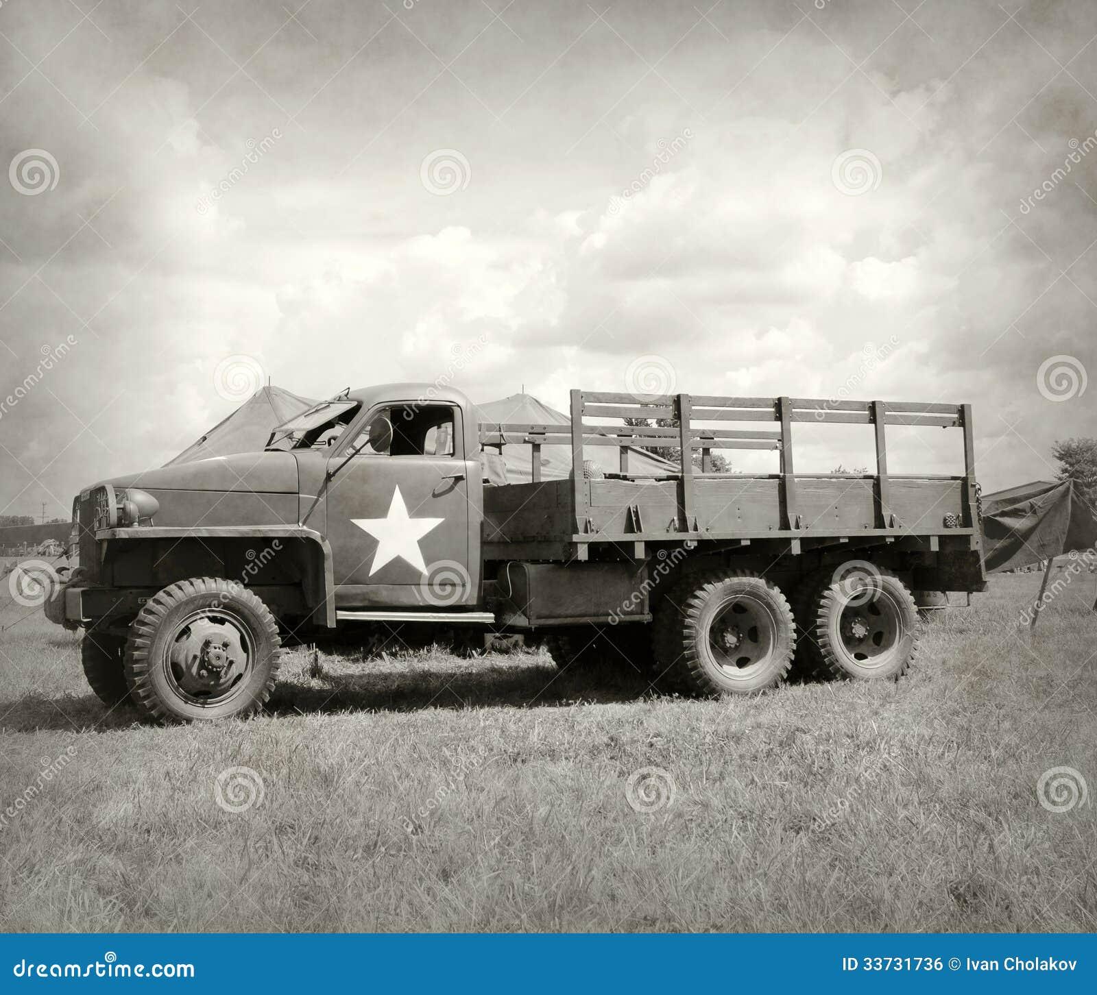 Старая тележка армии