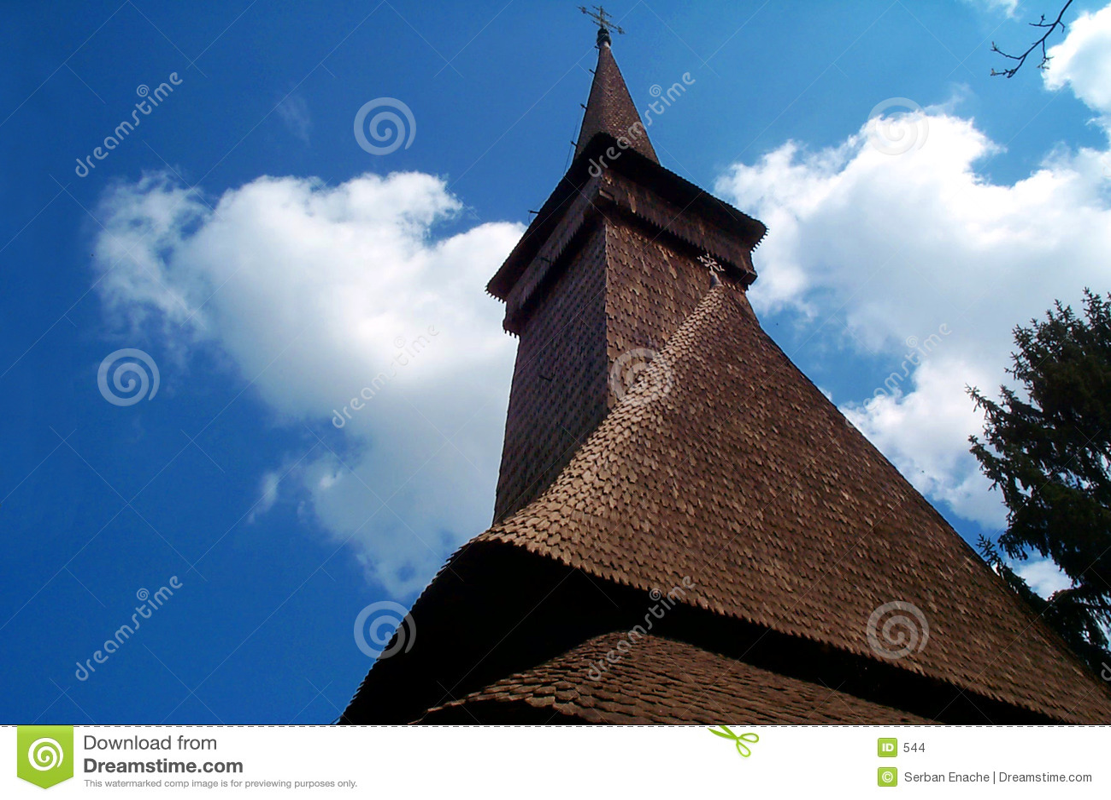 старая церков европейская