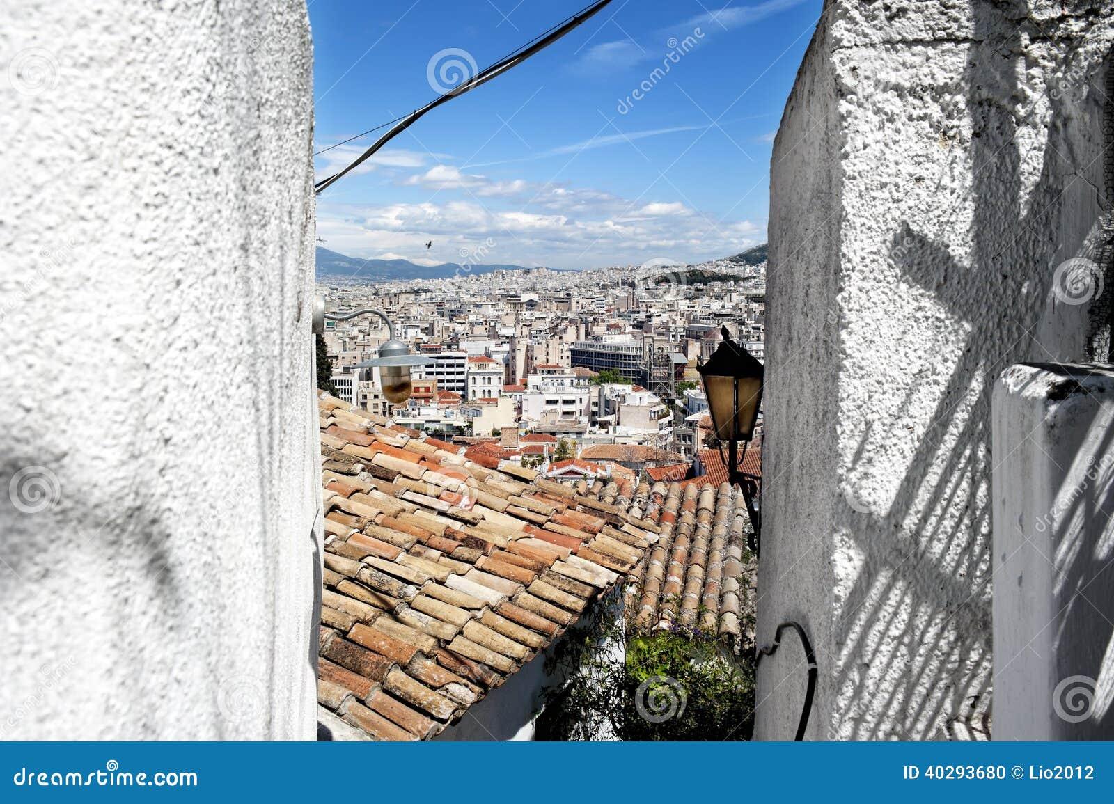 Старая часть Афин, Греции
