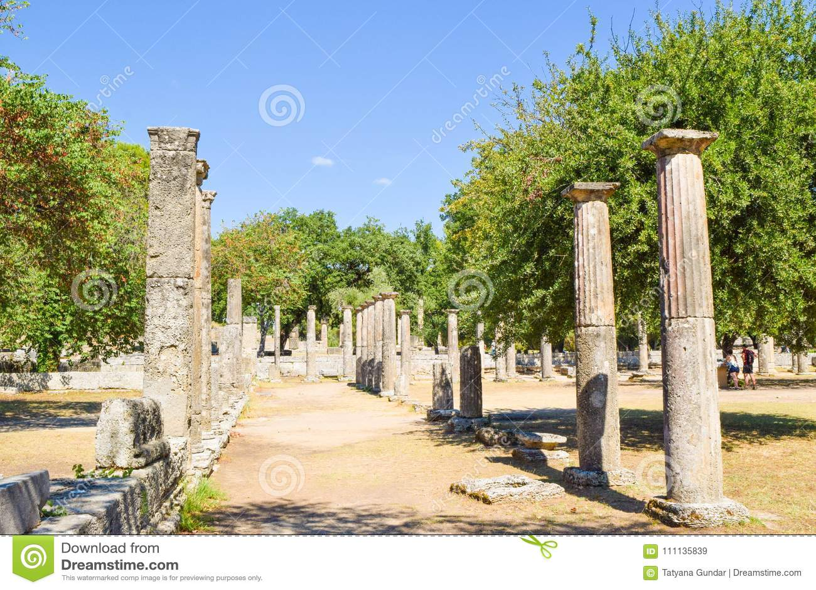стародедовская Олимпия Греции