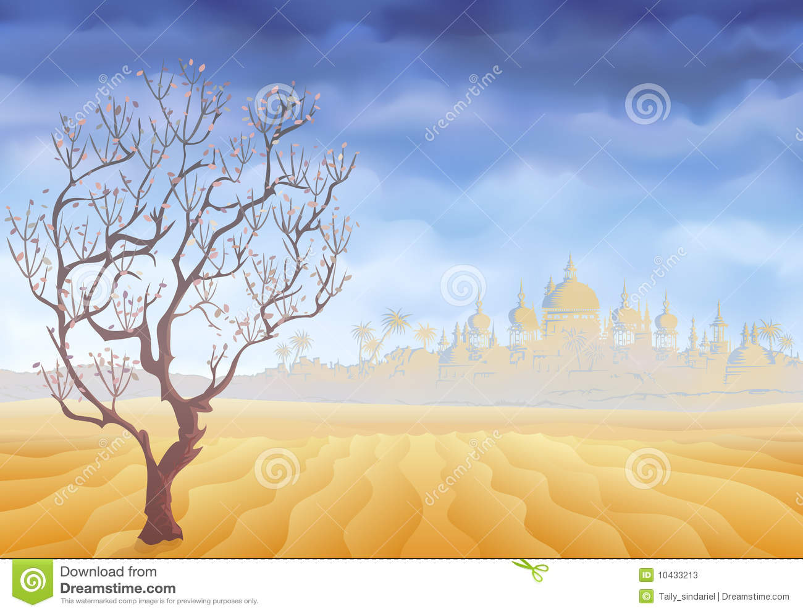 стародедовский вянуть вала миража пустыни замока