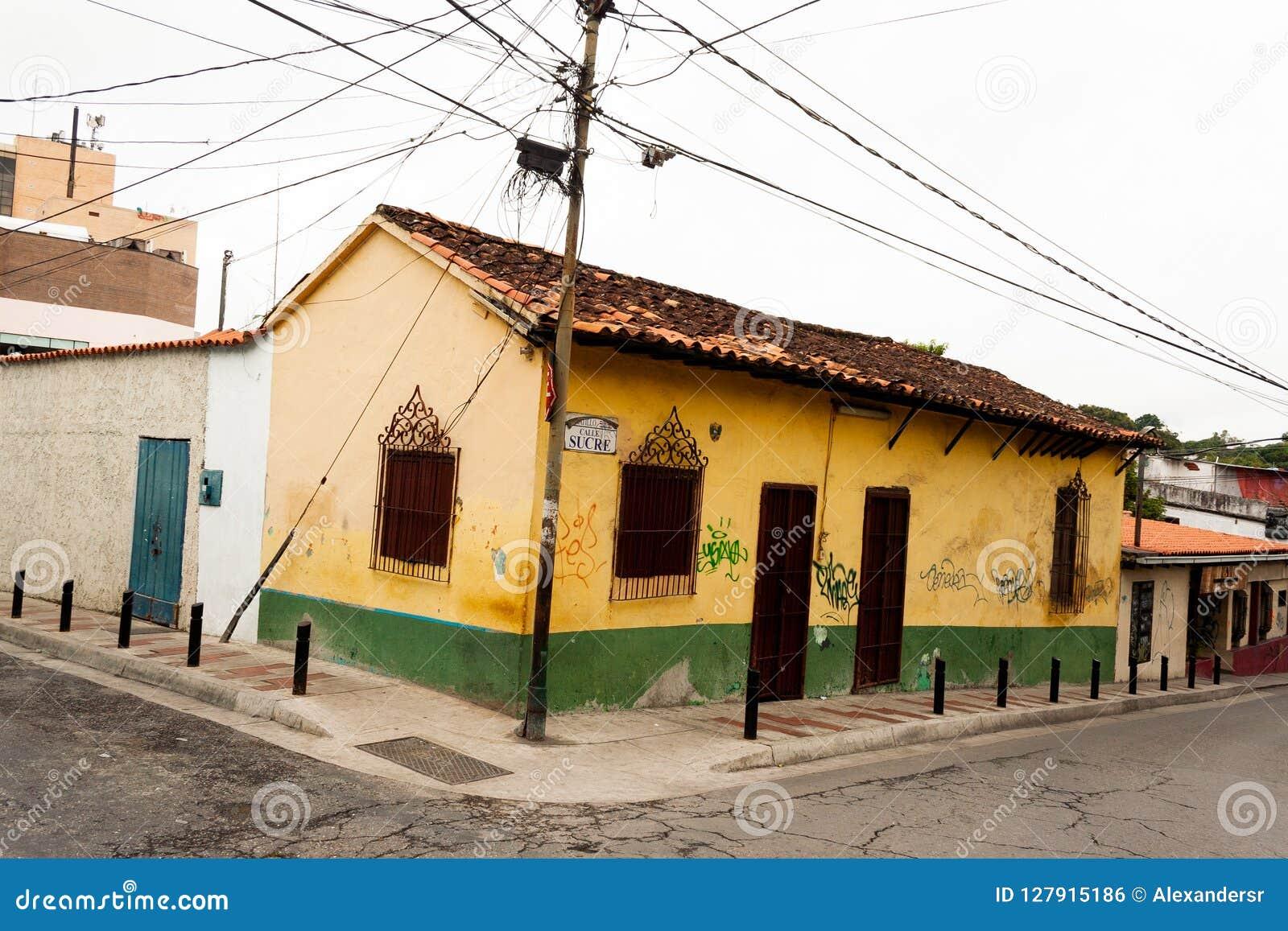 Старое положение Каракас Венесуэла El Hatillo Miranda дома