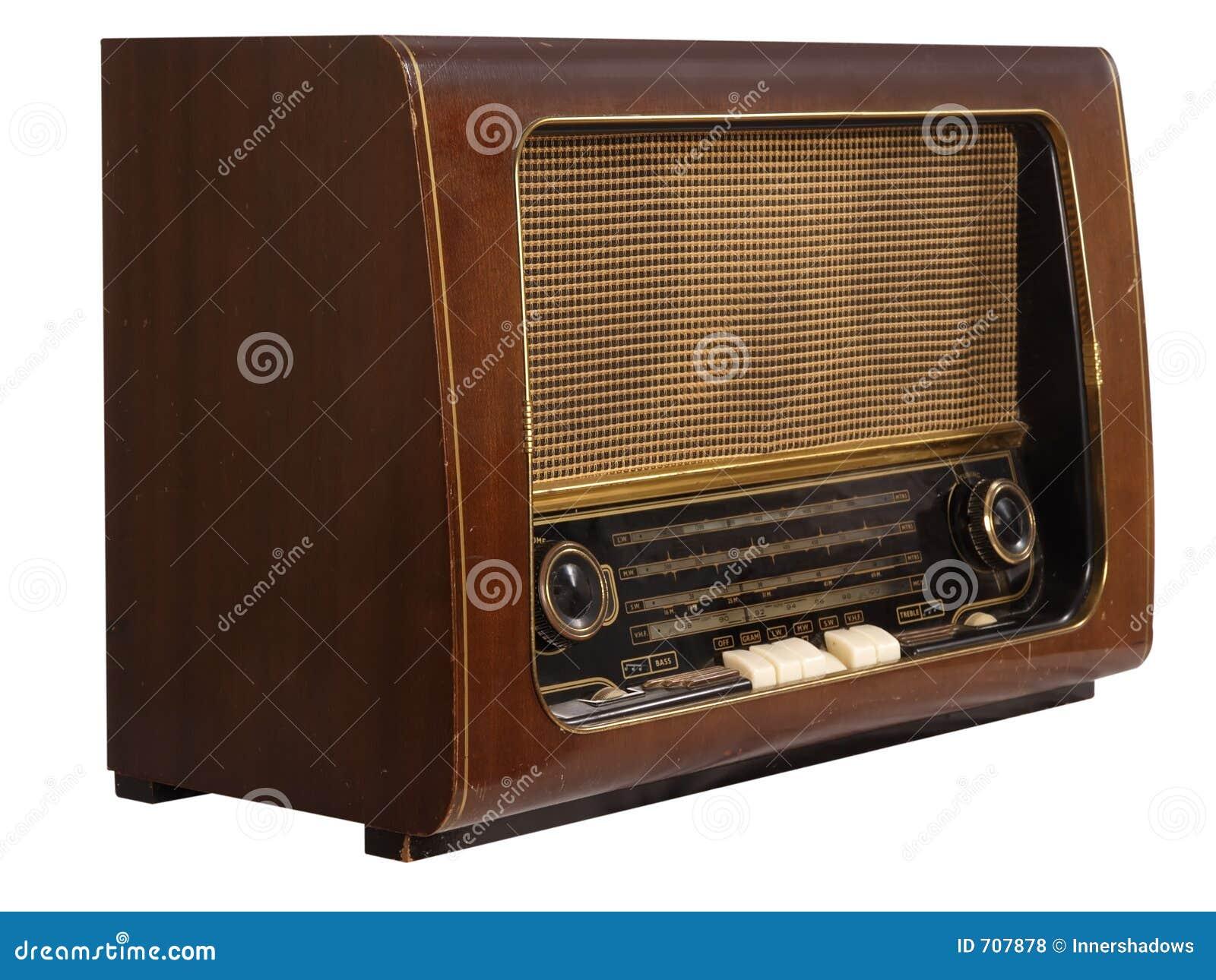 старое радио ретро