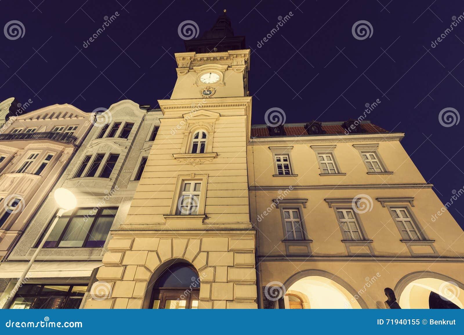 Старое Rathaus в Остраве