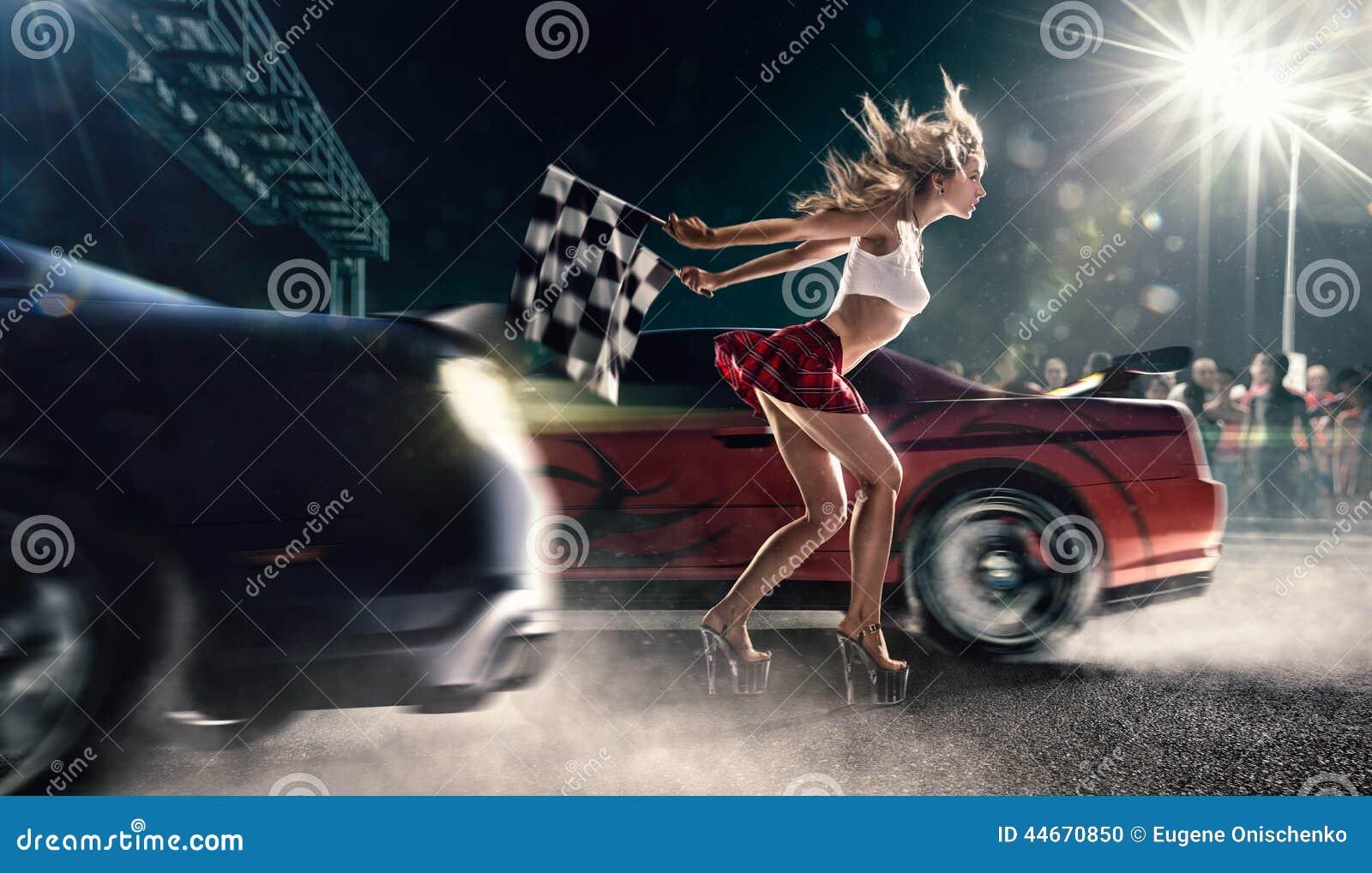 Старт гонок улицы